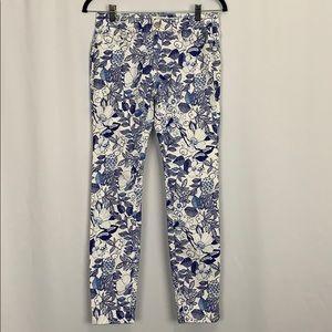 Vineyard Vines Blue Cordia Floral Print Jeans